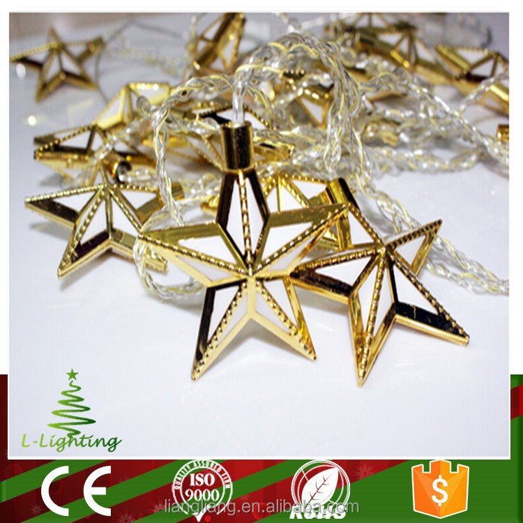 new product led christmas star decoration light