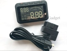 2015 New Arrival HUD Head Up Display Car HUD OBD2 Device Support All OBD II Cars