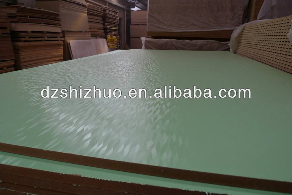 standard size mdf board/mdf sheet prices