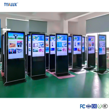 65 Inch Floor Standing Android LCD Advertising Video Display Digital Signage