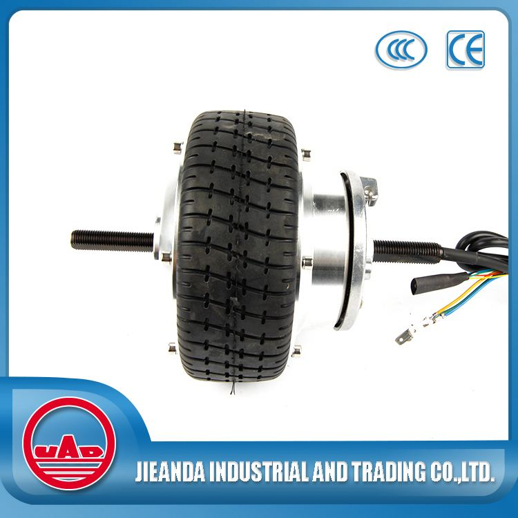 6 inch High Torque Low Speed Brushless Geared Wheel Hub Motor