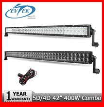 42 inch LED Light Bar 400W CREES 5D 4D Beam Combo ATV 4x4 Led Work Light