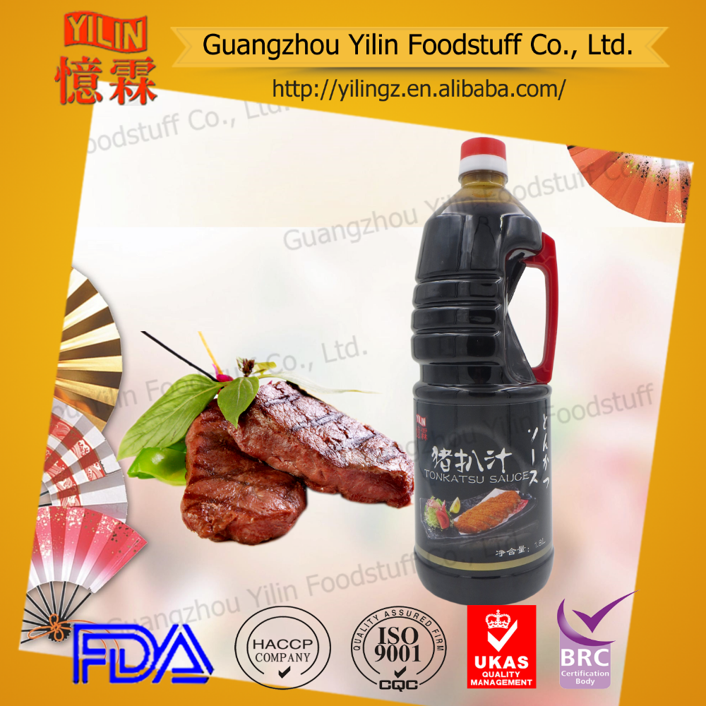 wholesale OEM1.8L Japanese style tonkastu sauce pork steak