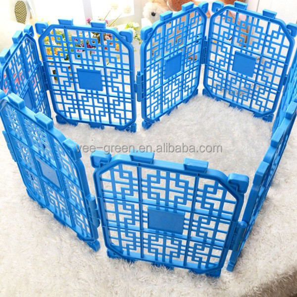 DIY Portable Plastic Pet Fence/ Plastic Pet Enclosure/ Plastic Pet Pen