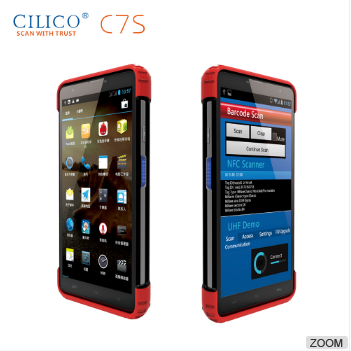 POS Handheld Android 0S PDA with barcode scanner/Bluetooth /RFID/WI-FI