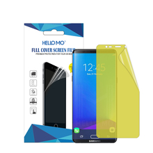 New product soft ultra thin transparent hd clear tpu film screen protector for Samsung Galaxy Note 8