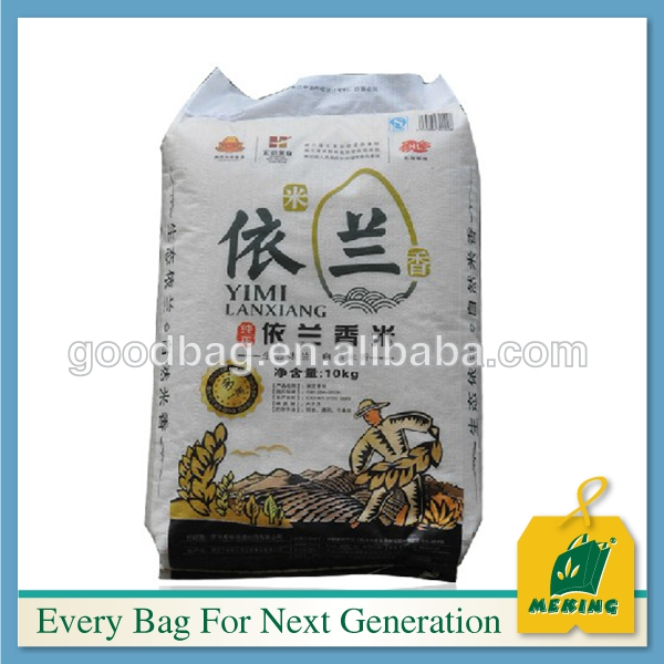 Laminated PP Plastic Woven Bags 50kg Making Factory, white bags for sugar,salt,flour