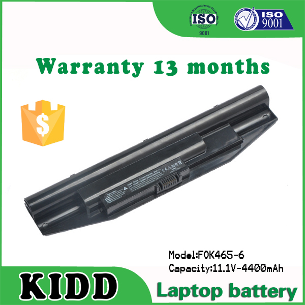 High Quality laptop battery for Tongfang G32-L0 K465 X46F