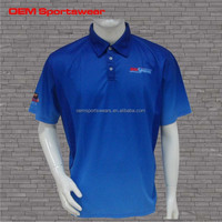 OEM wholesale customized polo shirt pique fabric