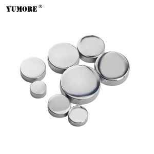 Furniture home application metal bathroom mirror cooper decorative screw cover caps