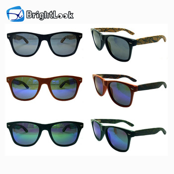 New style high quality hot sale CE&FDA certificate factory outdoor 100% bamboo women under wear sunglasses