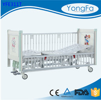 YONGFA Hot Sale CE ISO FDA Manufacturer hospital pediatrics children bed children hospital bed medical children hospital beds