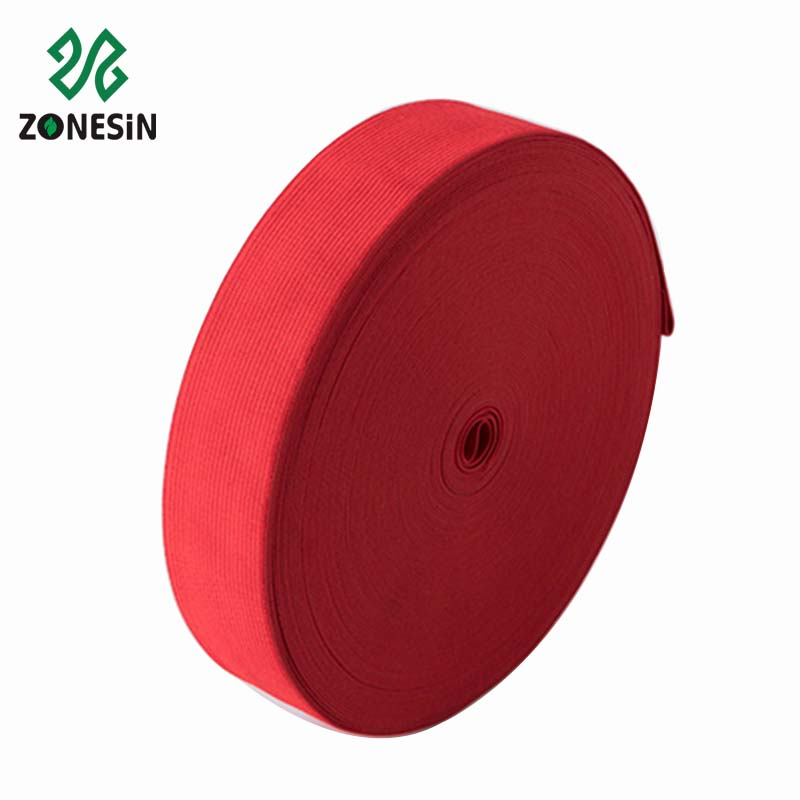Personalized Color 22mm Nylon Webbing Elastic Tape For Underwear