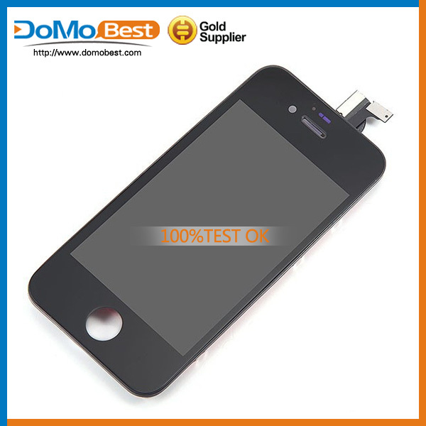 Promotion price ,round lcd display with frame for iphone 4s