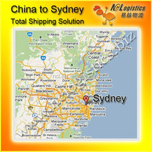 China to Sydney Australia shipping containers service