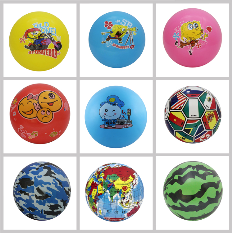 PVC Inflatable Painting Ball For Kids