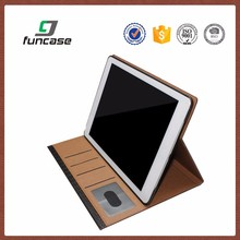 Hot sale waterproof leather keyboard case for ipad air 2