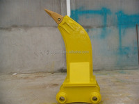 single shank ripper for excavator