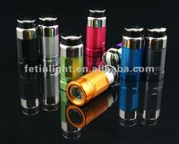 keyring torch with car cigarette lighter for promotional