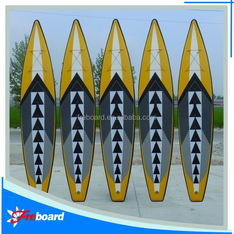 Wholesale inflatable racing sup stand up paddle board