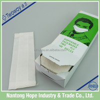 disposable paper face mask for medical use