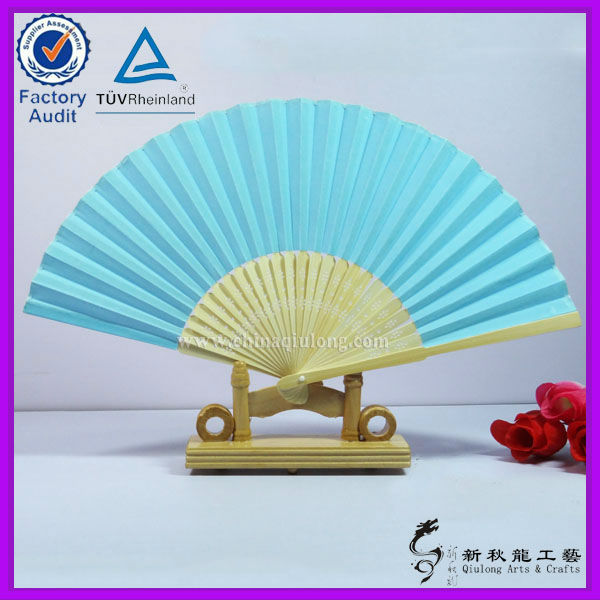Printed Paper Fan For Promotional Gifts/ Political Campaign/ Wholesale