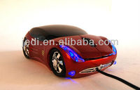 2.4ghz usb wireless optical mouse driver/funny car shape mouse