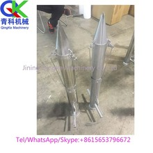 Stainless steel hand held transplanter for tomatoes vegetable Seed plant machine