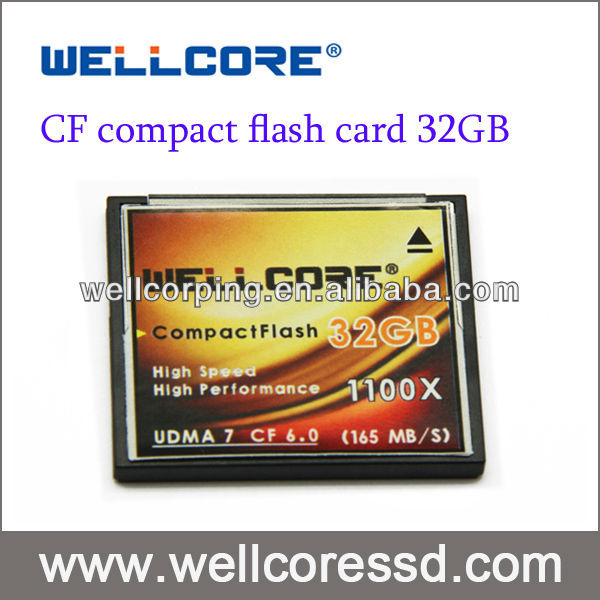Industrial grade 32gb CF card compact flash with SLC flash