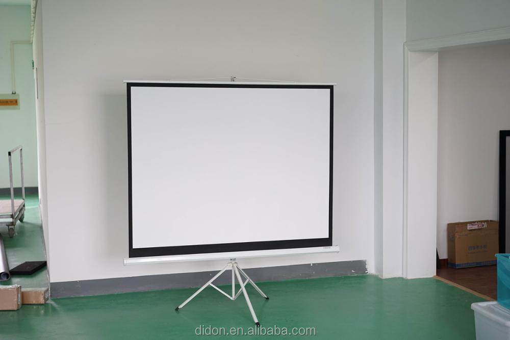 portable floor projector screen hanging projector screen outdoor
