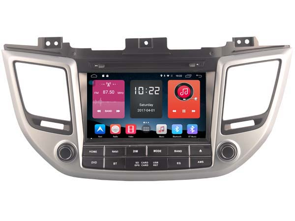 otojeta 4G lite Android 6.0 Car DVD for Hyundai ix35 Tucson 2016 autoradio headunits stereo gps navi multimedia tape recorder