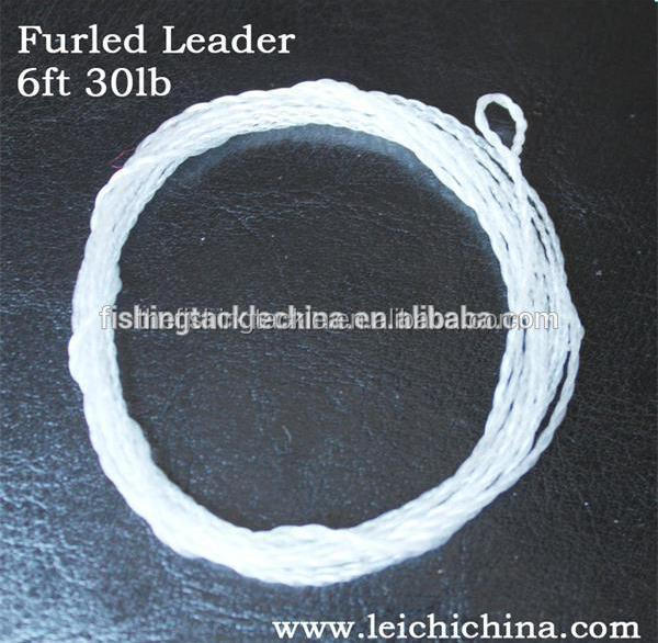 In stock fly fishing Furled leader