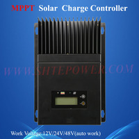 Good looking 60a solar battery mppt pv panel charger portable 12v