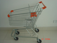 factory direct sale webstore heavy duty shopping cart wheeled shopping cart on website