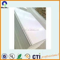 20mm reliable pvc grey white board hard plastic