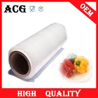 "Healthy and convenient stretch film 18"" x 1500 ft for food baking"
