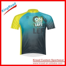 Custom High quality specialized cycling jersey no minimum, OEM breathable cycling gear with 130gsm DIMPLE fabric