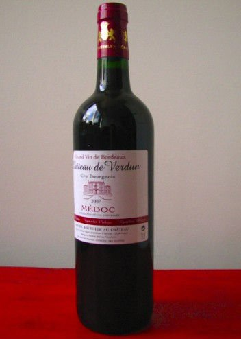 Cru Bourgeois MEDOC at 3.99 Euros/ bottlle French red wine