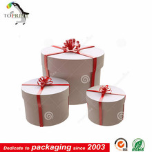 round kraft gift boxes wholesale customized printing paper tube manufacturer