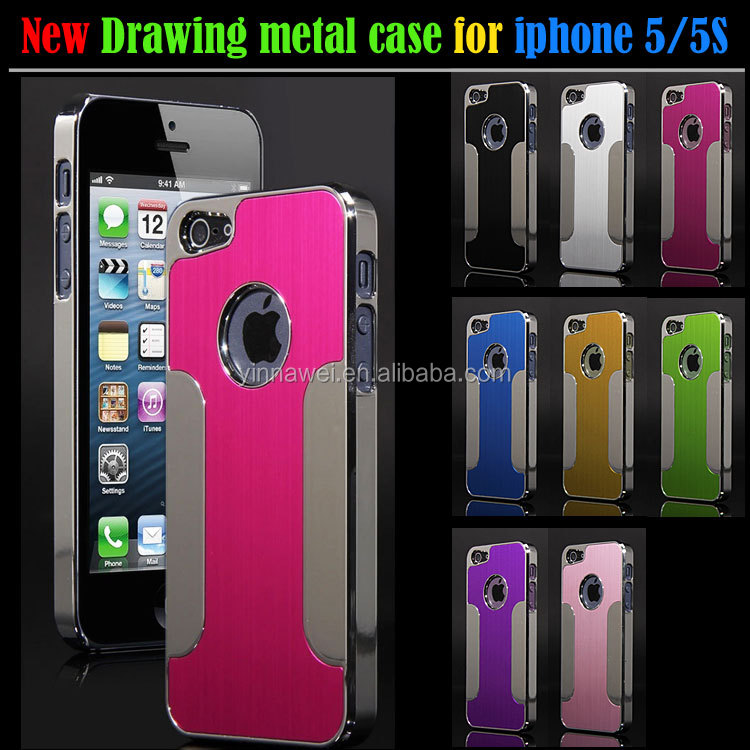 Luxury Best Selling cell phone blade metal bumper case for iphone5/5S phone covers wholesale