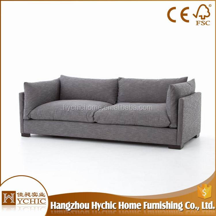 China Manufacturer Offer fabric sets purple wooden sofa furniture