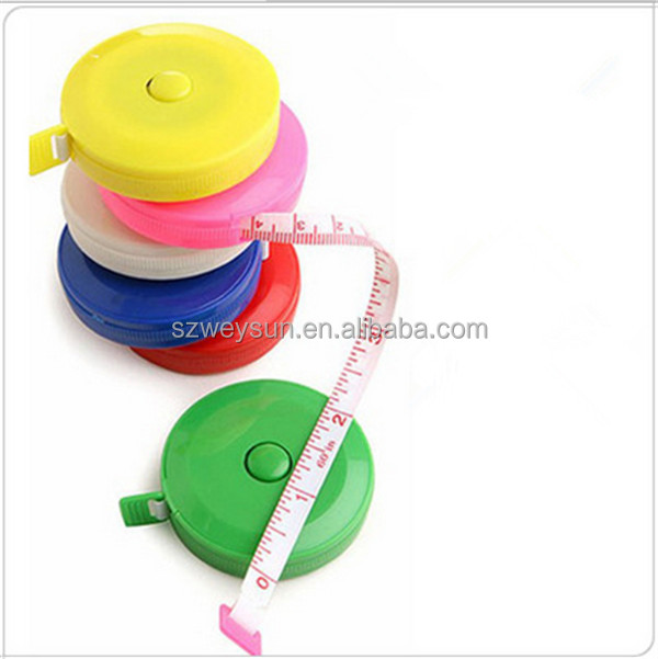 New Retractable Ruler Tape <strong>Measure</strong> 60 inch Sewing Cloth Dieting Tailor 1.5M