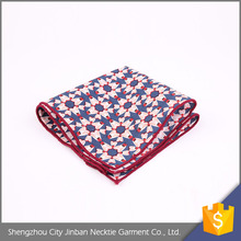 OEM accept Personalized polyester hemstitched handkerchiefs