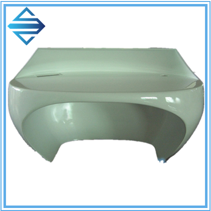 Hand lay up custom fiberglass Cover for Machine