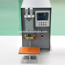 lithium polymer battery tab pack spot welding machine