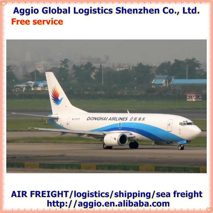 aggio cheapest best logistics service dhl express from shenzhen to cook islands