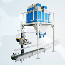 semi auto animal feed wheat bran packing machine