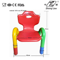 New design cheap colorful plastic garden beach chair for nursery