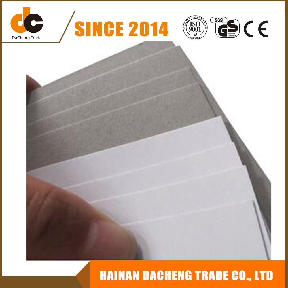 paper plate engagement Coated white paper for gift carton box duplex board