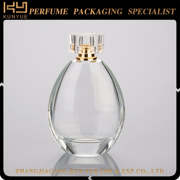 100ml glass empty perfume bottles for uk